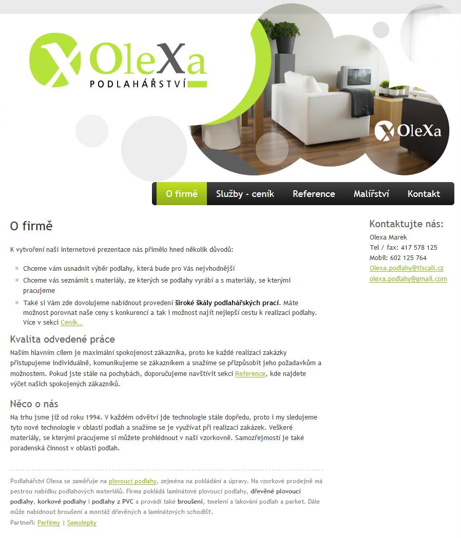 Podlahářství Olexa