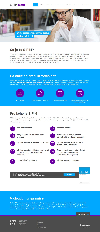 Komplexní řešení pro správu produktových dat.