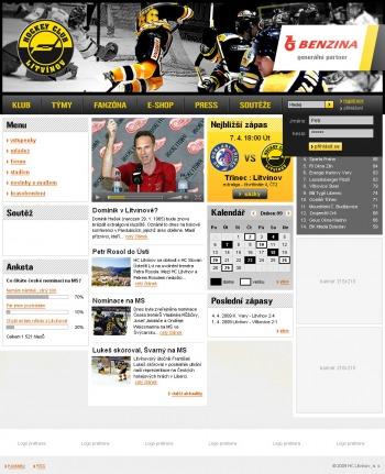 Oficiální web hokejového klubu