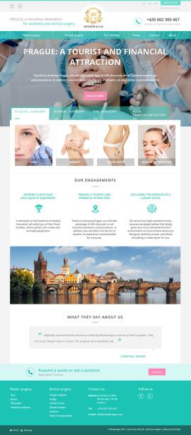 Estetická chirurgie a stomatologie v centru Prahy