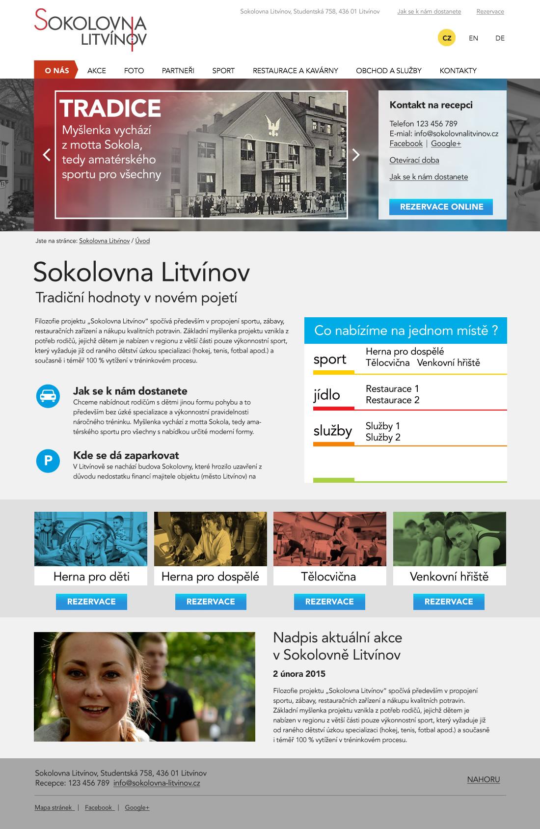 Sokolovna Litvínov